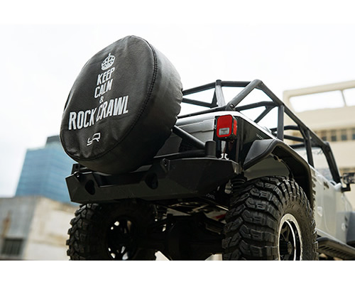 Copri ruota da 1.9 per Jeep e Crawler scala 1:10 (Rock Crawl) yeahracing YA-0446