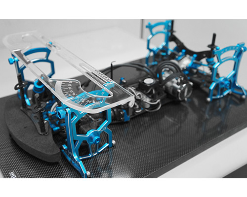 Setup System x modelli 1:10 On-Road V2.0 Nero con borsa yeahracing YT-0140BK